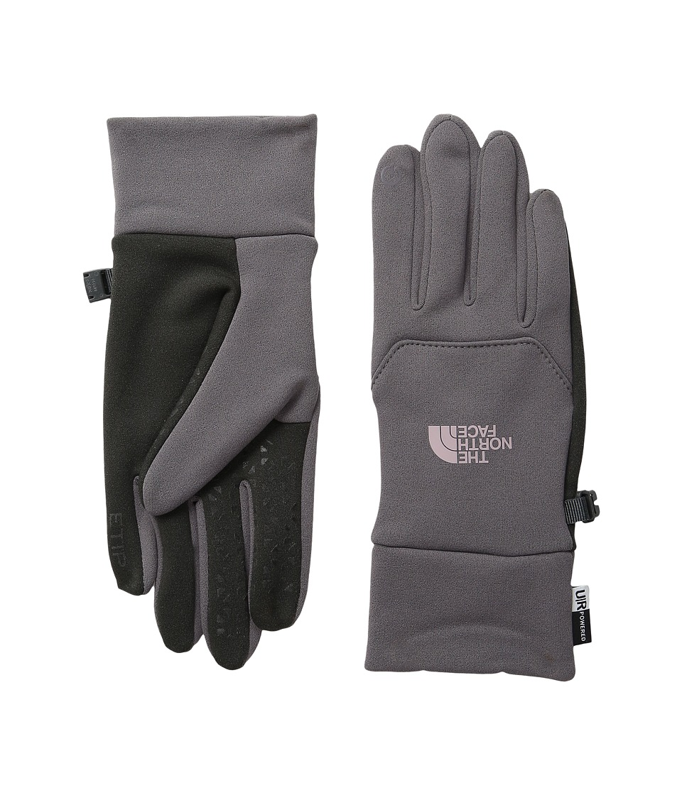 The North Face Etip Gloves (Rabbit Grey) Snowboard Gloves