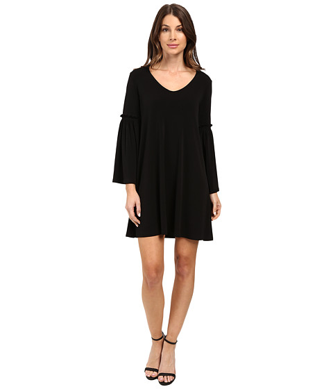Karen Kane Bell Sleeve Dress - Black