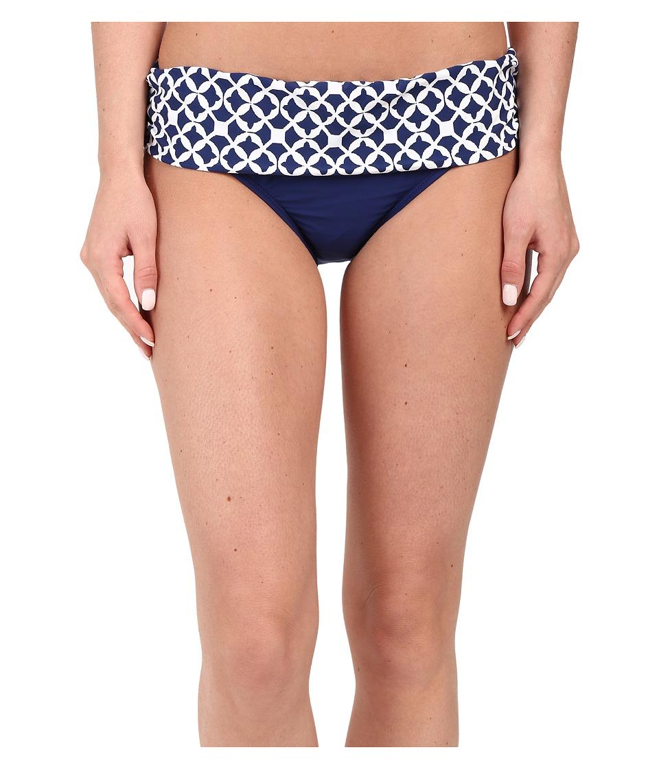 Athena Coastal Geo Banded Pant Bottom Navy Womens Swimwear