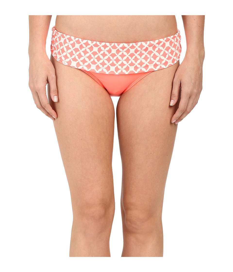 Athena Coastal Geo Banded Pant Bottom Orange Womens Swimwear