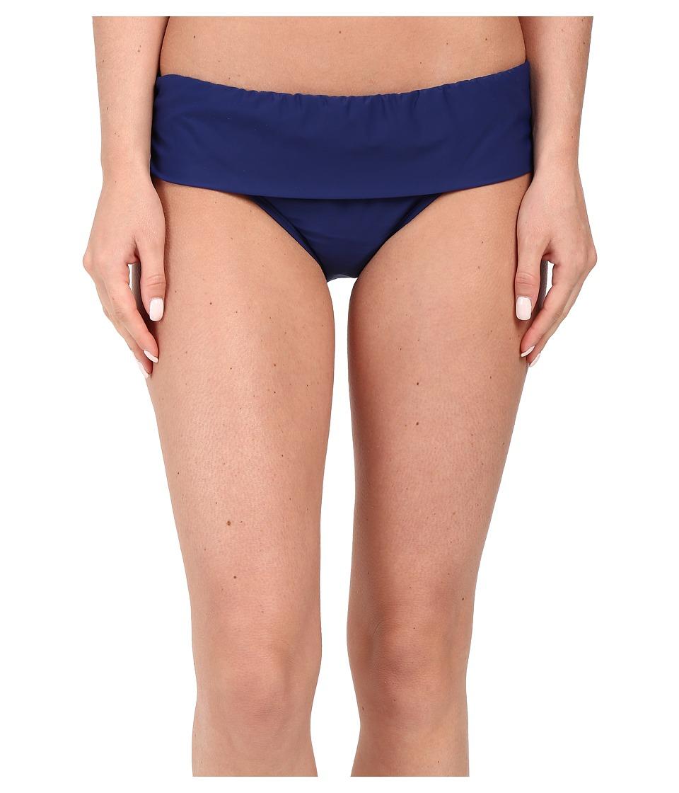 Athena Cabana Solids Banded Pant Navy Womens Swimwear