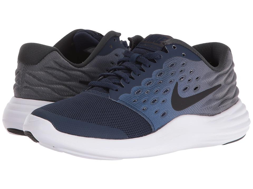 Nike Kids - Lunastelos (Big Kid) (Midnight Navy/Anthracite/White/Black) Boys Shoes