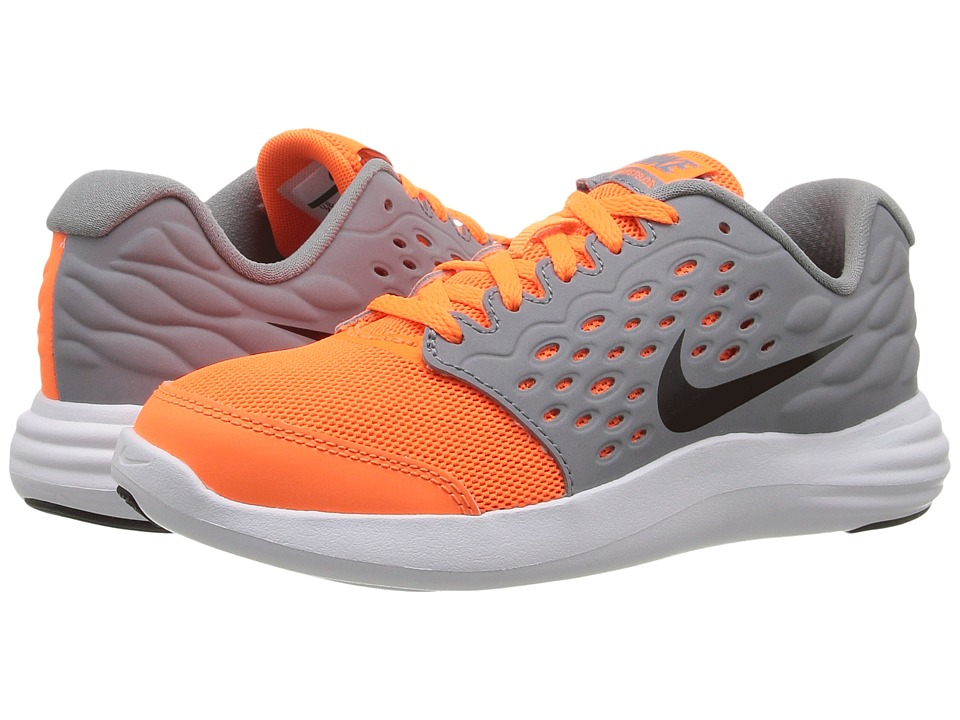 Nike Kids - Lunastelos (Little Kid) (Total Orange/Stealth/White/Black) Boys Shoes