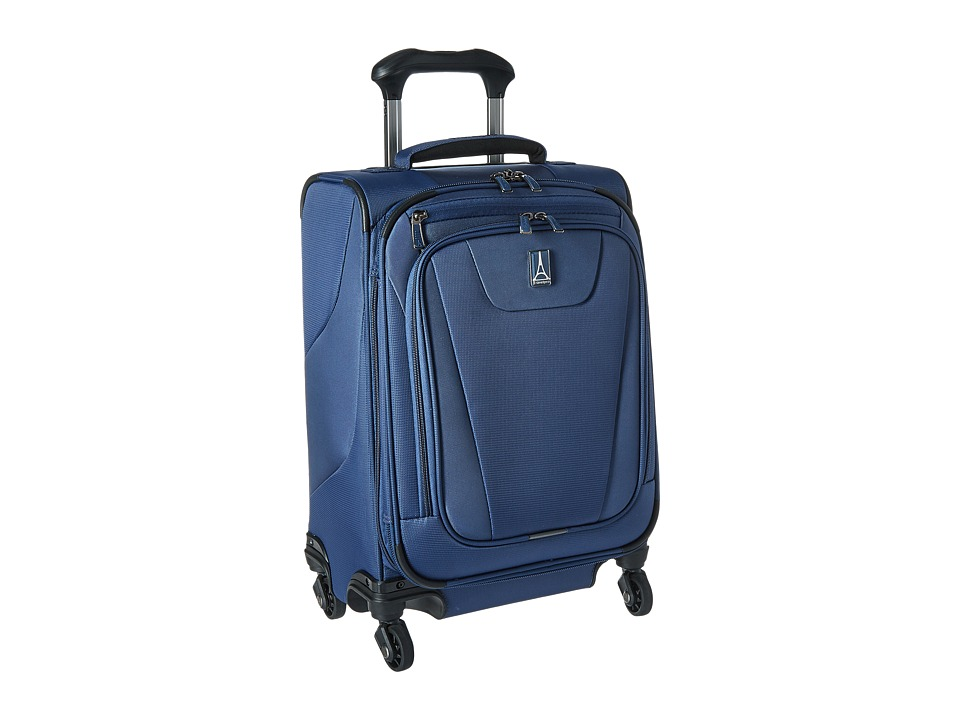 Travelpro Maxlite(r) 4 International Carry-On Spinner (Blue) Carry on Luggage