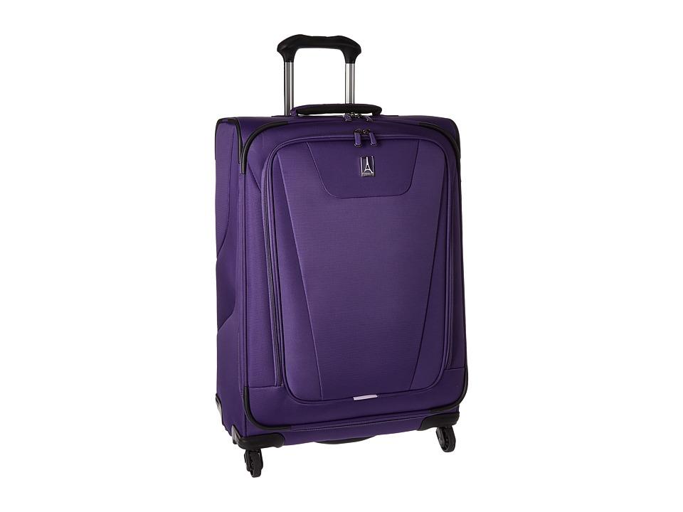 Travelpro Maxlite 4 25 Expandable Spinner (Purple) Luggage