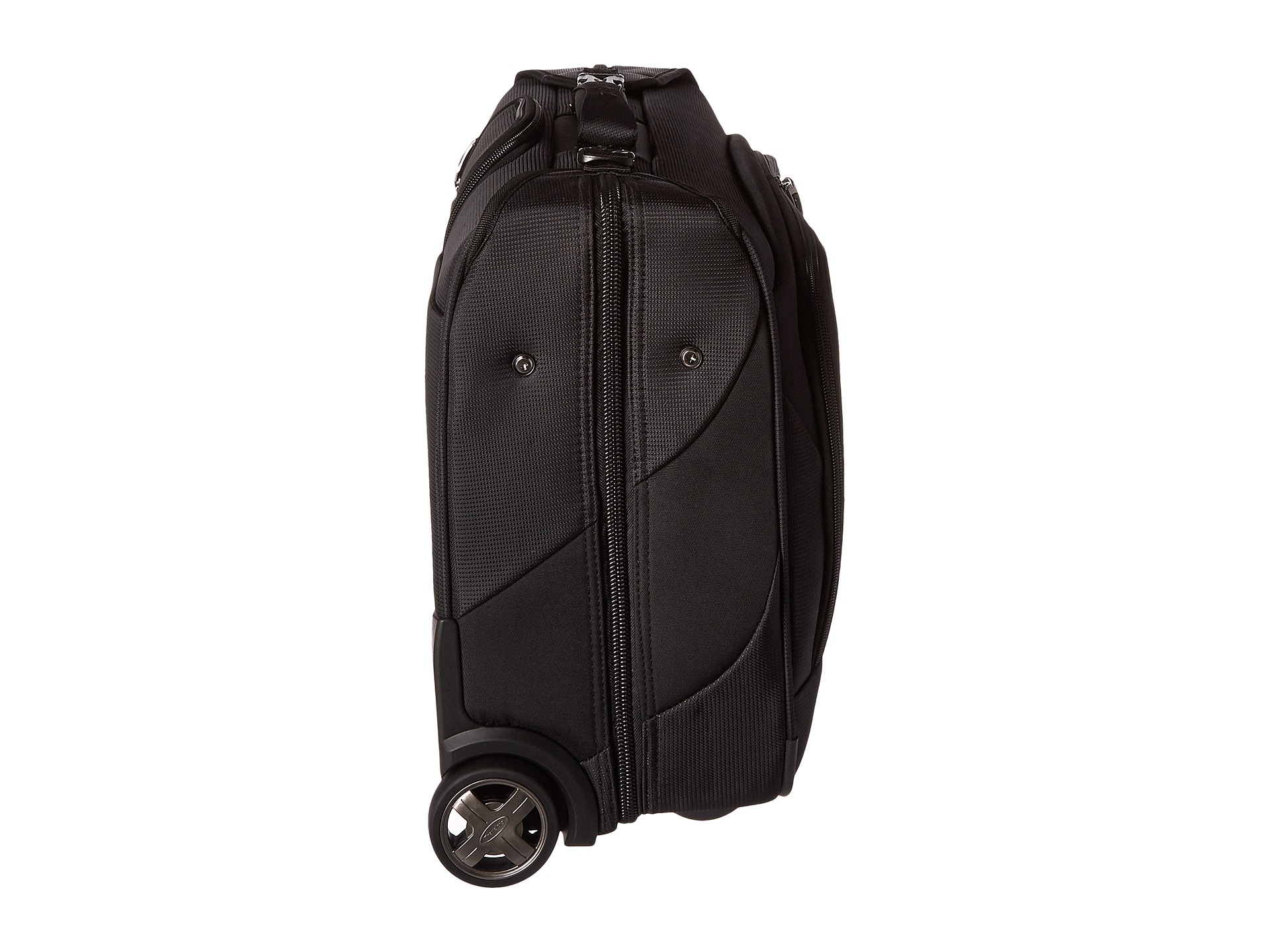 Travelpro maxlite 4 rolling carry on garment bag black for Wedding dress garment bag for plane