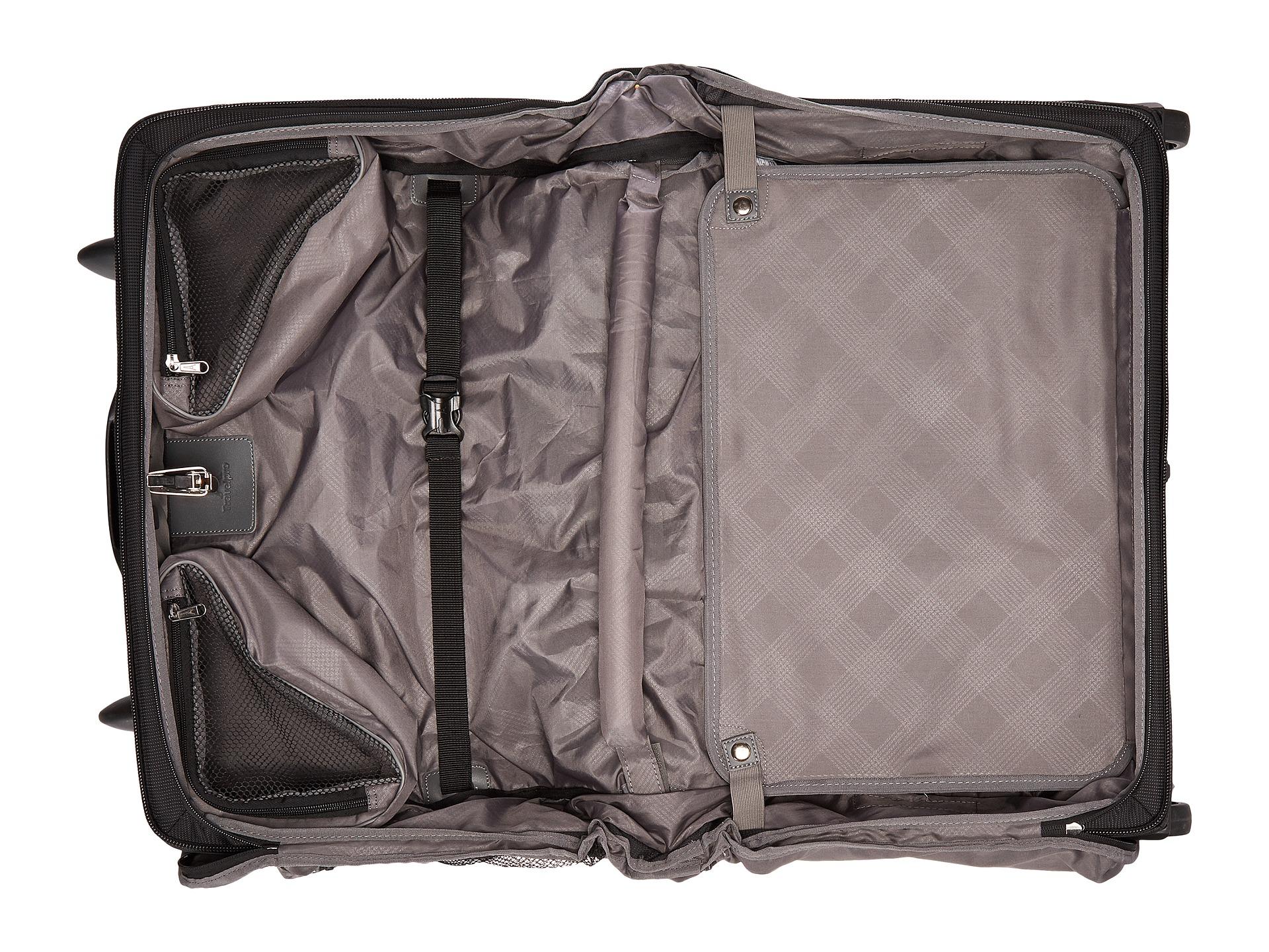 Travelpro maxlite 4 rolling carry on garment bag black for Wedding dress garment bag for air travel