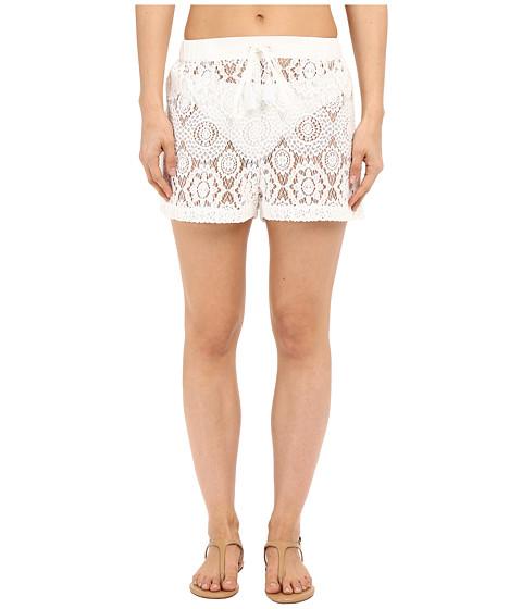 MICHAEL Michael Kors La Vie Boheme Crochet Shorts Cover-Up