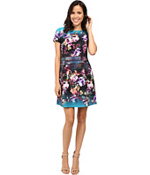 Laundry by Shelli Segal - Fit & Flare Printed Dress