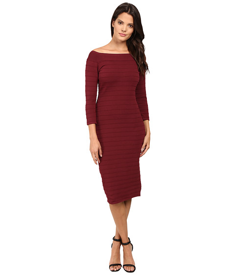 Laundry by Shelli Segal Off The Shoulder Bandage Dress