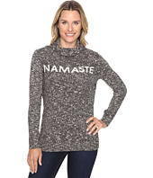 Life is good - Namaste Funnel Neck Sweater