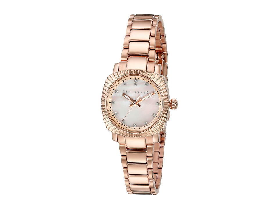 Ted Baker Classic Charm Collection 10024720 Rose Gold/Mother of Pearl Watches