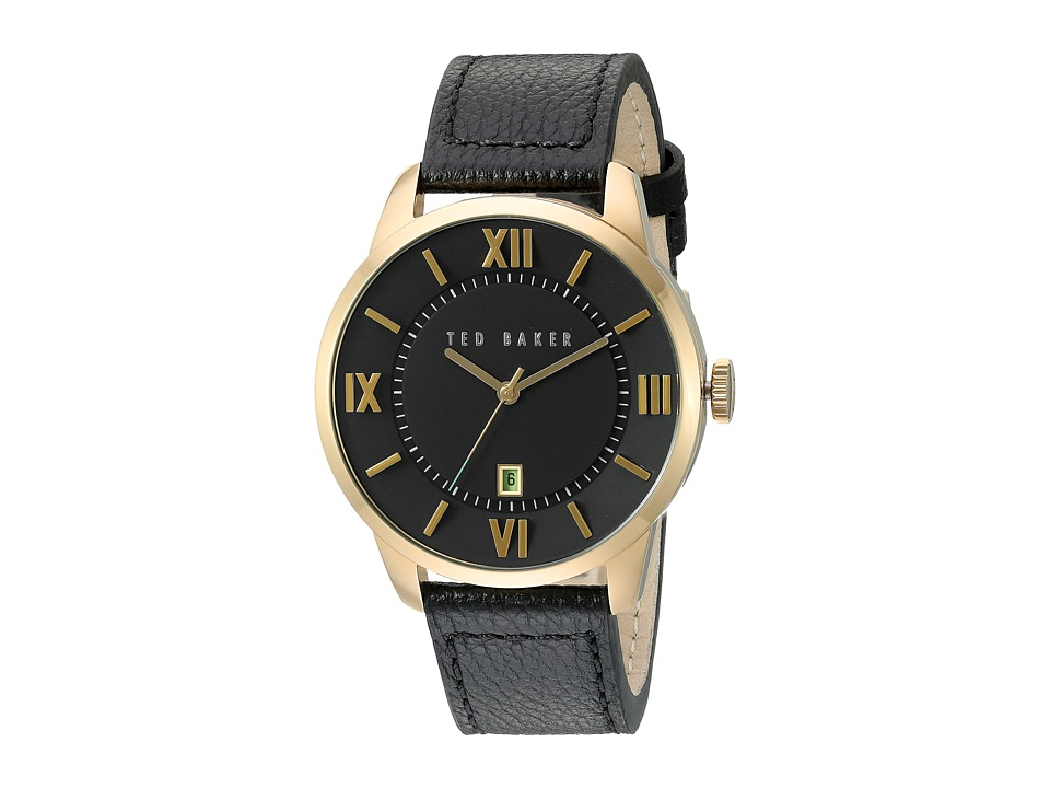 Ted Baker Dress Sport Collection 10015153 Gold/Black Watches