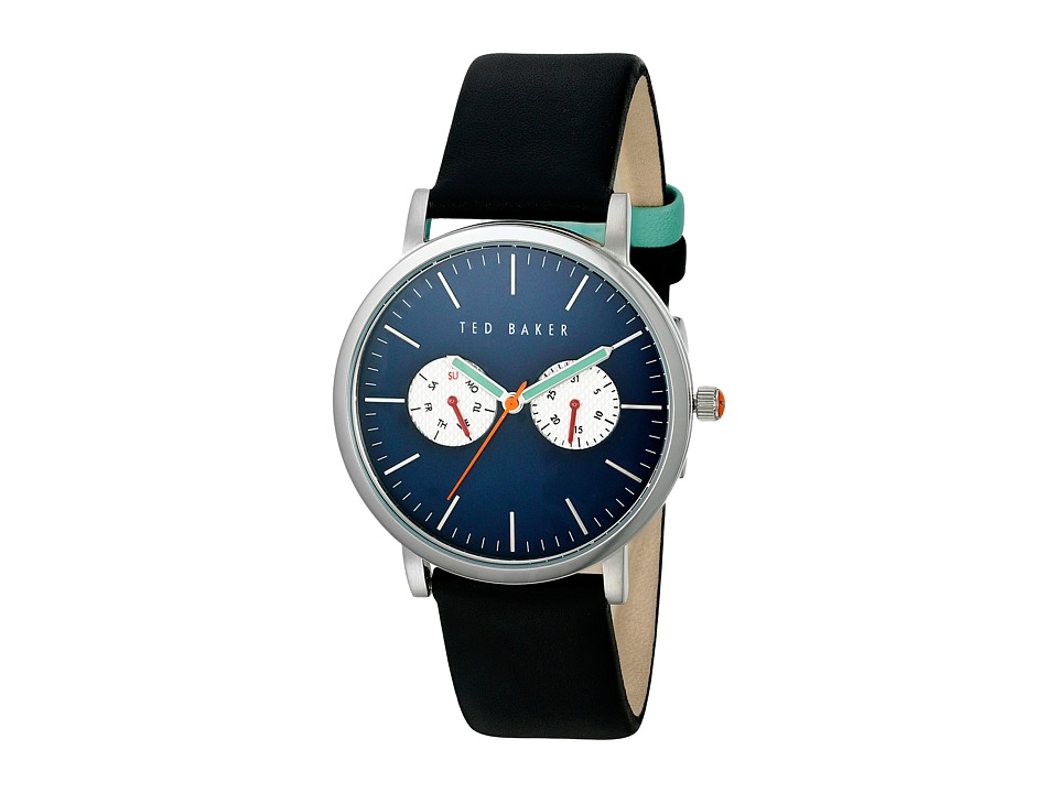 Ted Baker Dress Sport Collection 10024785 Silver/Blue Watches