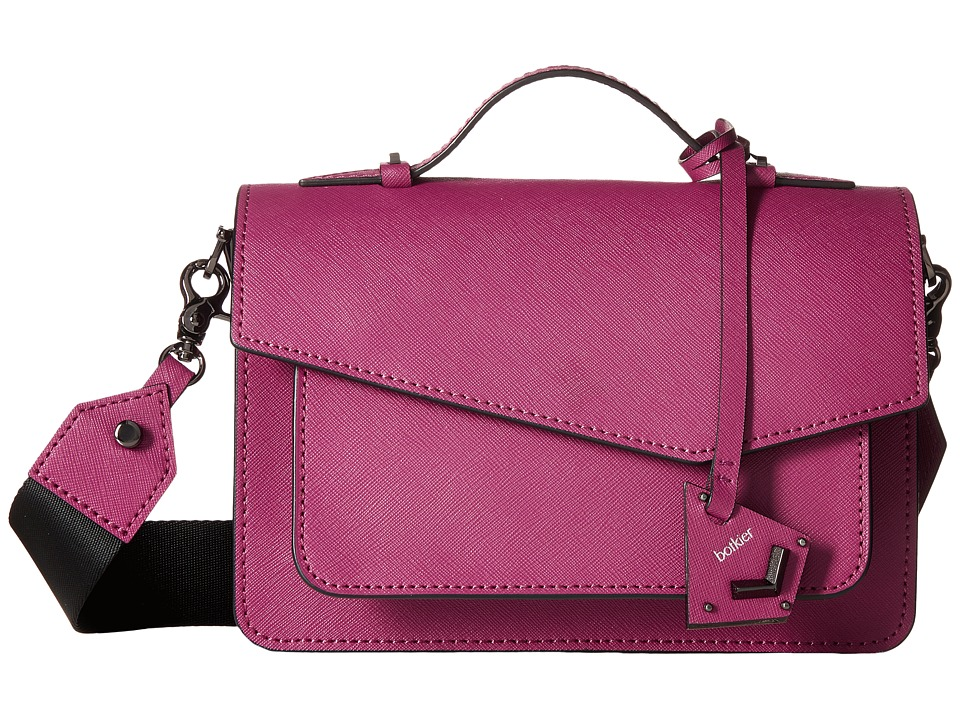 Botkier - Cobble Hill Crossbody (Sangria) Cross Body Handbags