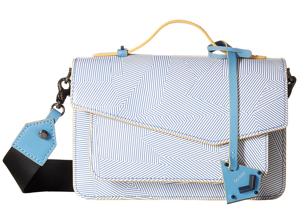 Botkier - Cobble Hill Crossbody (Denim) Cross Body Handbags