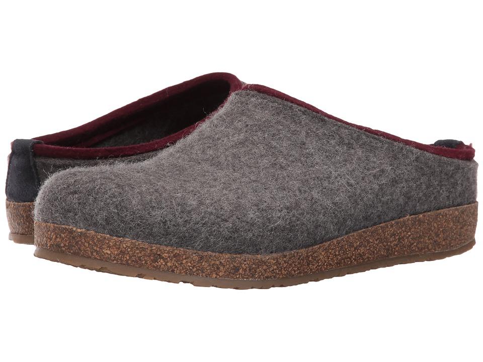 Haflinger Kris (Grey) Clog Shoes