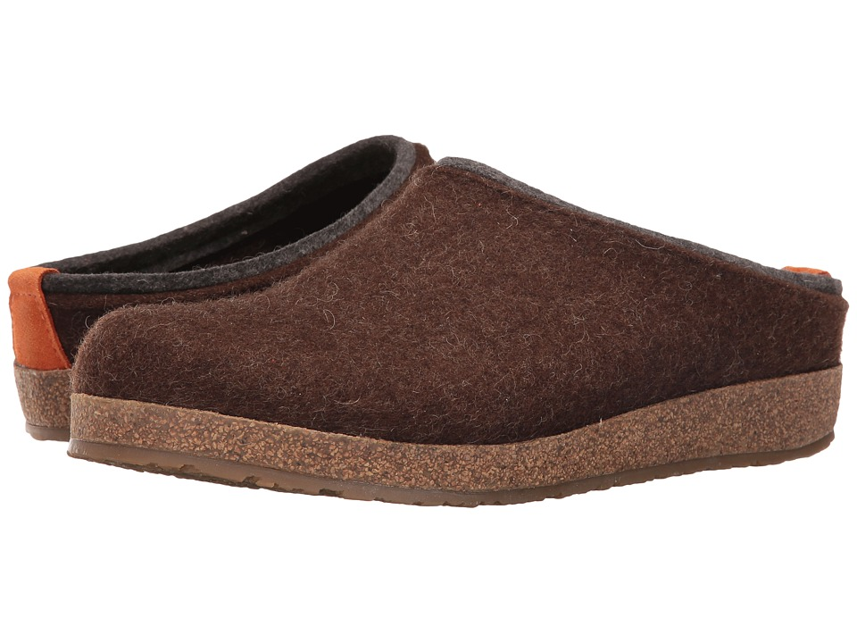 Haflinger Kris (Chocolate) Clog Shoes