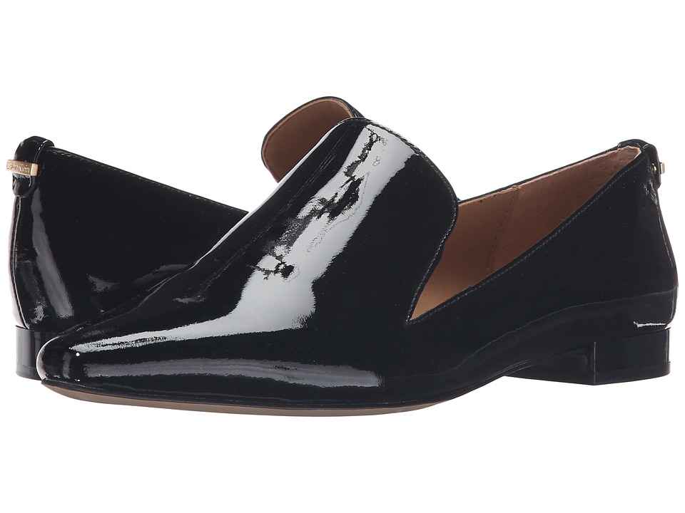 Calvin Klein Elin (Black Patent) Women's Shoes