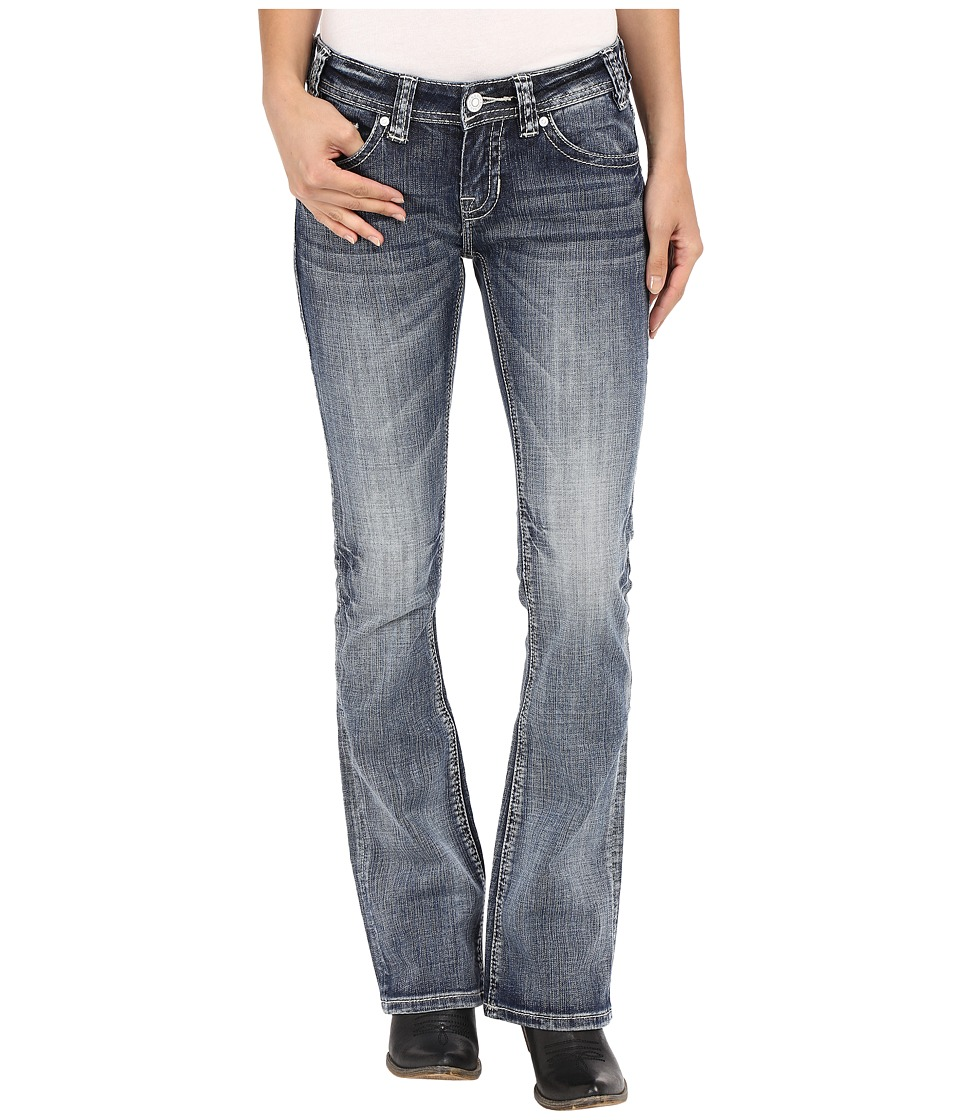 Rock and Roll Cowgirl Rival Bootcut in Light Vintage W6 7363 Light Vintage Womens Jeans