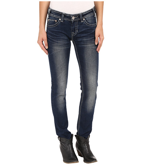 Rock and Roll Cowgirl Low Rise Skinny in Dark Vintage W0S7385