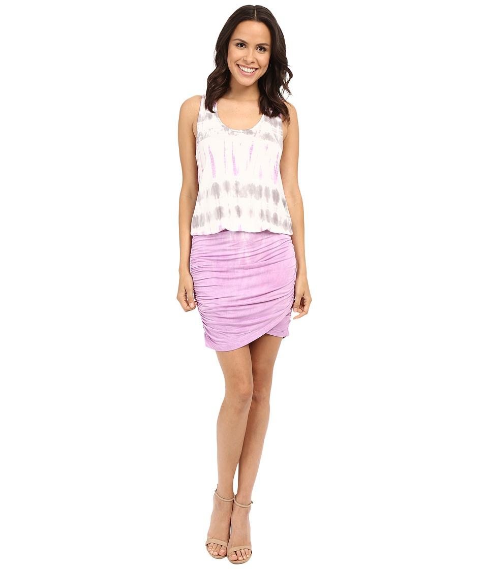 Young Fabulous amp Broke Elize Dress Lilac Bamboo Wash Womens Dress