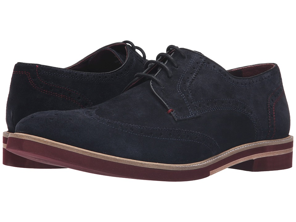 Ted Baker Archerr 2 (Dark Blue Suede) Men