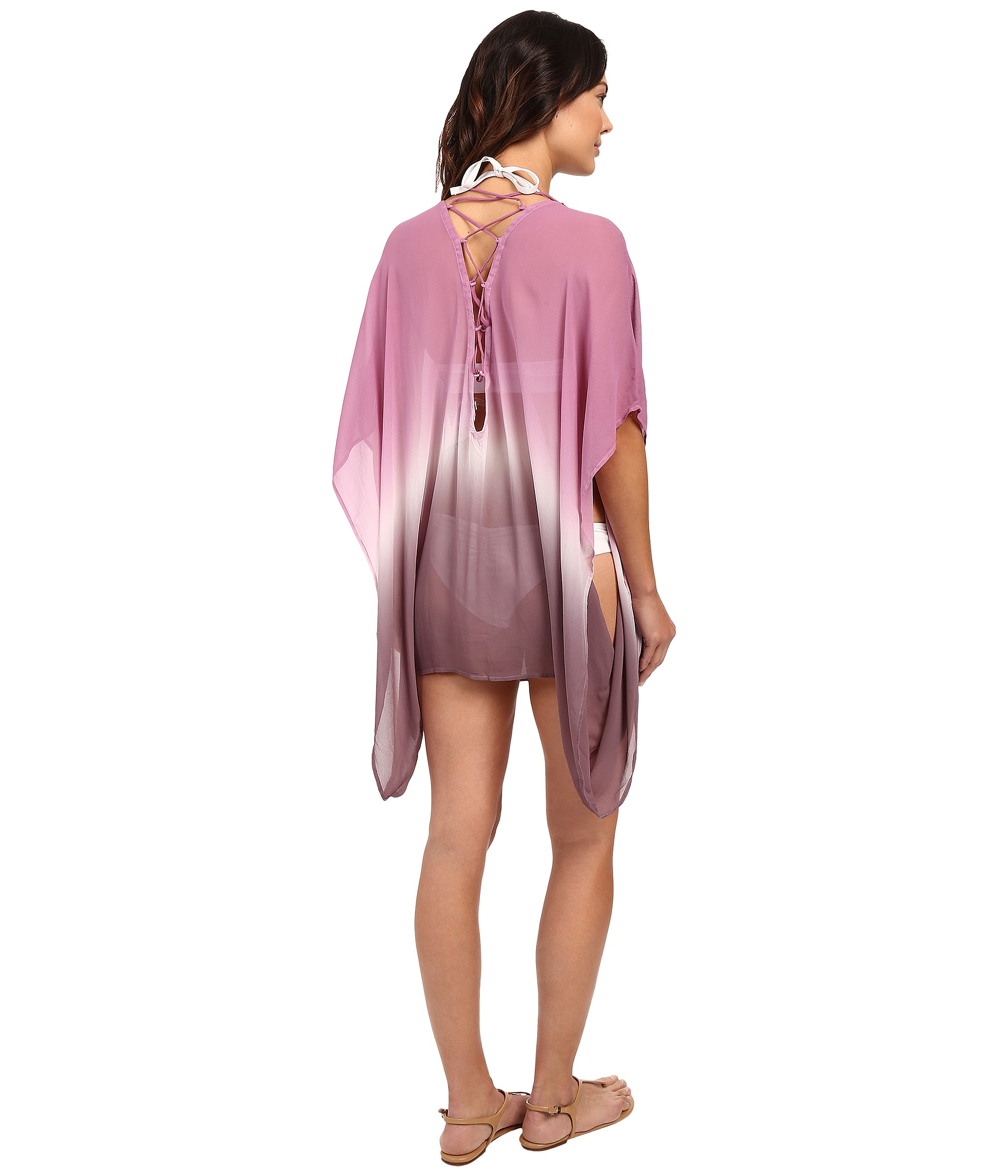 Young Fabulous & Broke Aquatic Cover-Up Wine Ombre - Zappos.com Free ...