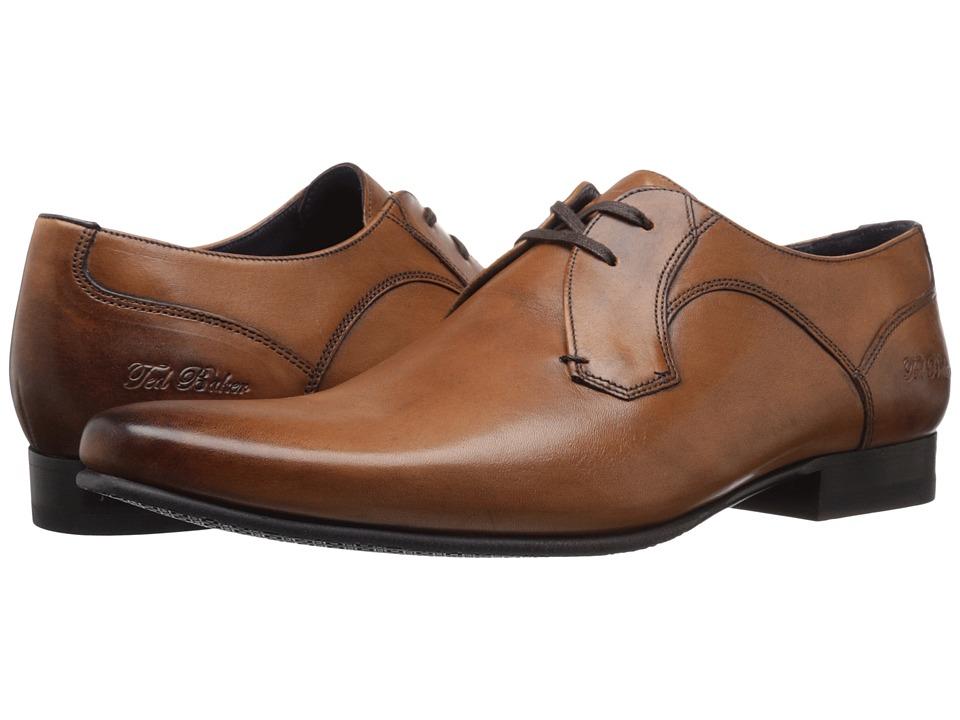 60s Mens Shoes | 70s Mens shoes – Platforms, Boots Ted Baker - Martt 2 Tan Leather Mens Shoes $195.00 AT vintagedancer.com