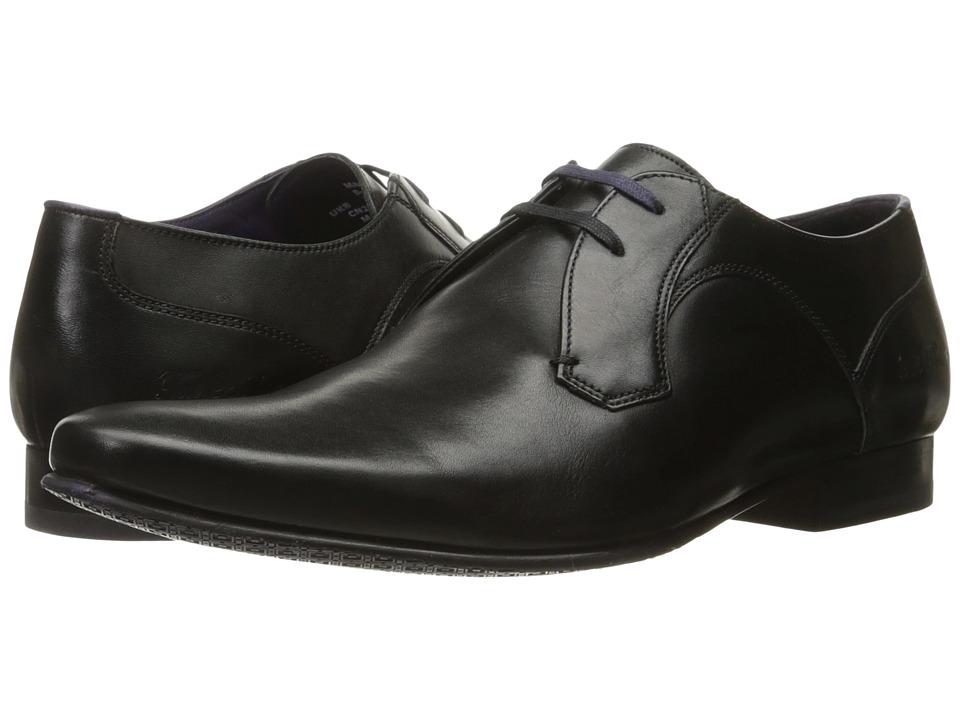 60s Mens Shoes | 70s Mens shoes – Platforms, Boots Ted Baker - Martt 2 Black Leather Mens Shoes $195.00 AT vintagedancer.com