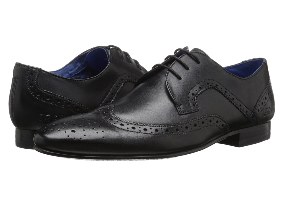 Ted Baker Oakke (Black Leather) Men