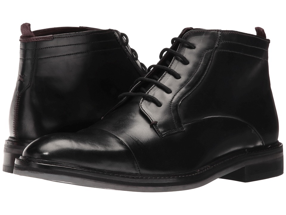 Ted Baker Baise (Black Leather) Men
