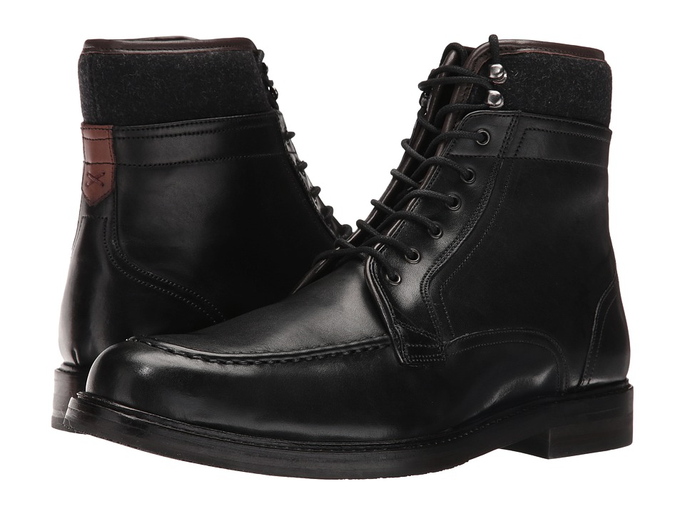 Ted Baker Hickut (Black Leather) Men