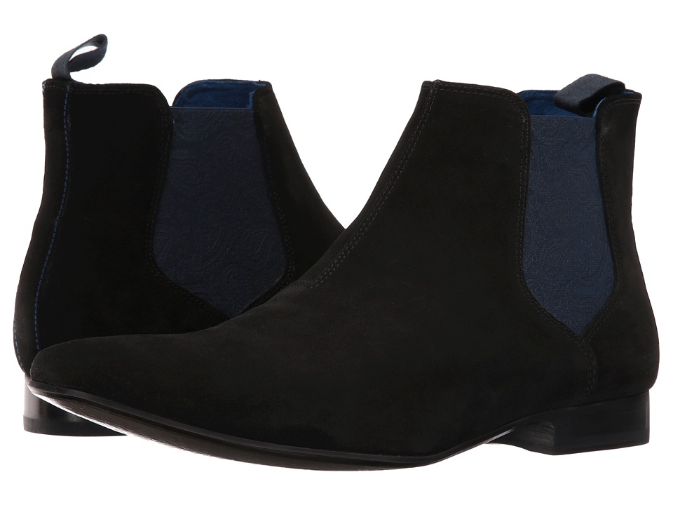 Ted Baker Hourb 2 (Black Suede) Men