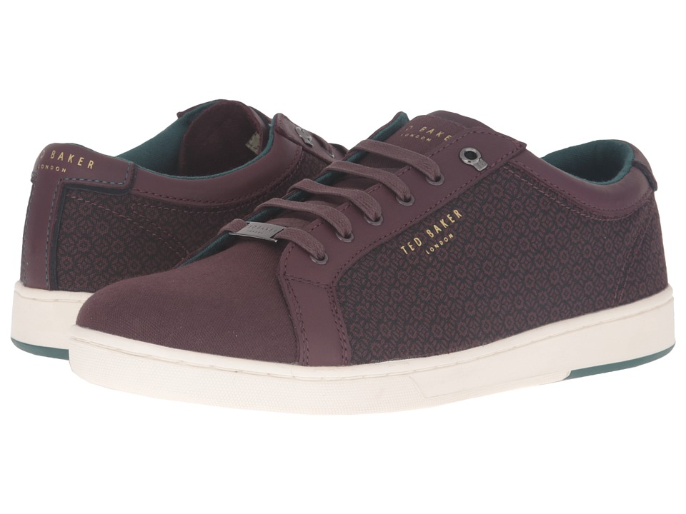 Ted Baker Keeran 4 (Dark Red Textile) Men