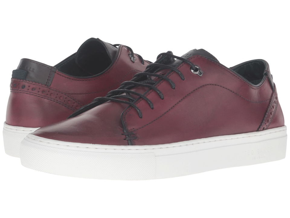 Ted Baker Kiing (Dark Red Burnished Leather) Men