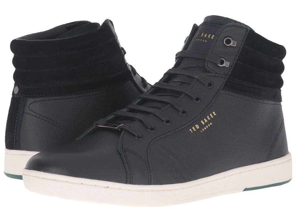 Ted Baker Mykka (Black Leather) Men