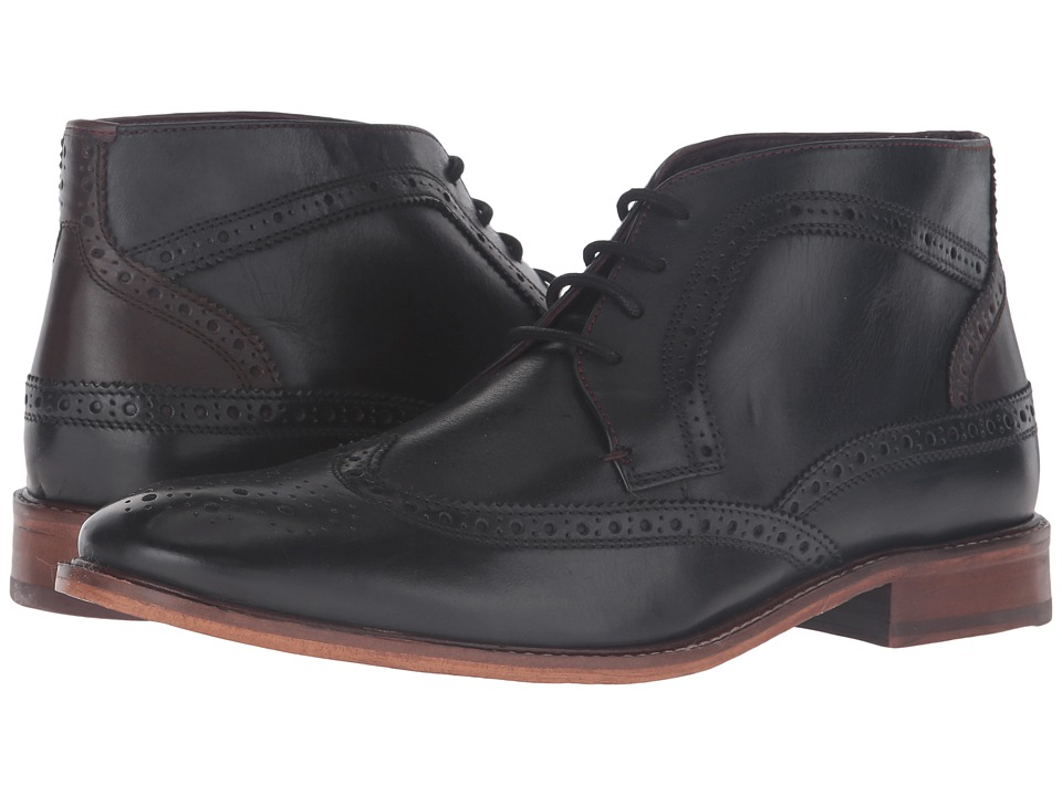 Ted Baker Pericop 2 (Black/Dark Brown Leather) Men