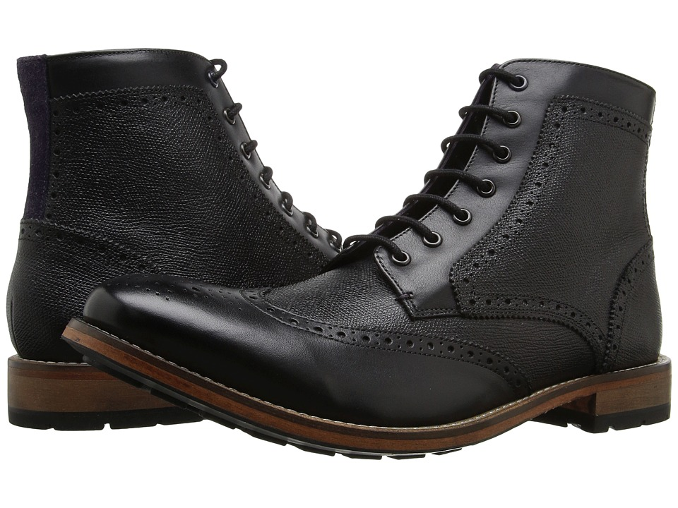 Ted Baker Sealls 3 (Black Leather) Men
