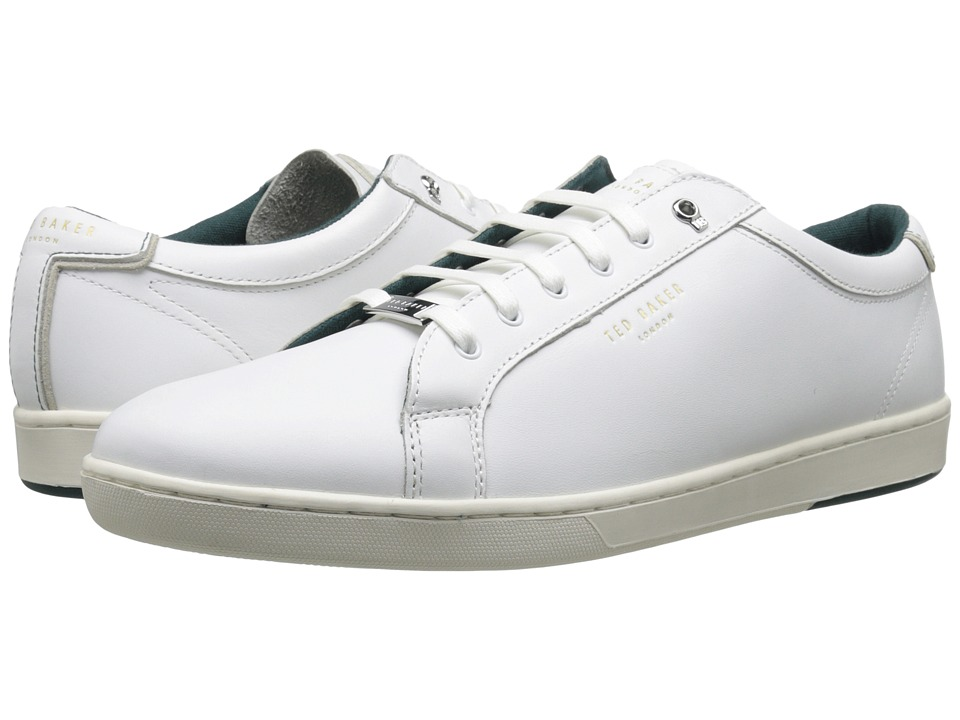Ted Baker Theeyo 3 (White Leather) Men