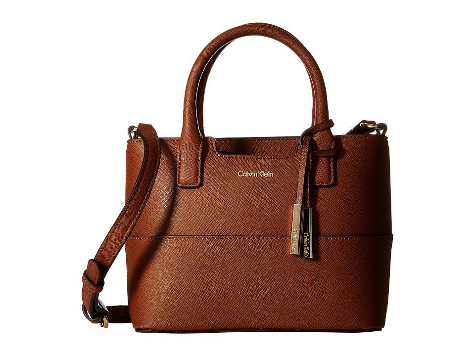 Calvin Klein - Saffiano Mini Bag (Luggage) Handbags