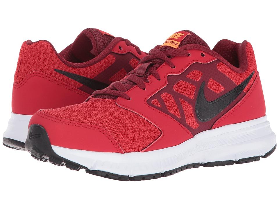 Nike Kids Downshifter 6 (Little Kid/Big Kid) (University Red/Team Red/Total Orange/Black) Boys Shoes