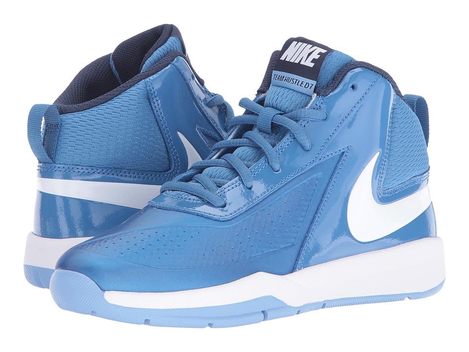 Nike Kids Team Hustle D 7 (Little Kid) (Star Blue/Midnight Navy/Light Blue/White) Boys Shoes