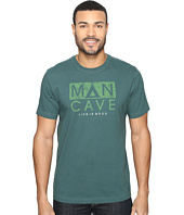 Life is Good - Man Cave Tent Crusher Tee