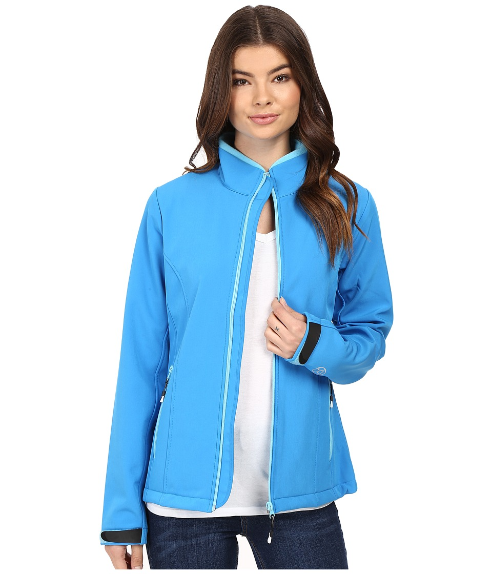 Roper Softshell Bomber Jacket (Blue) Women