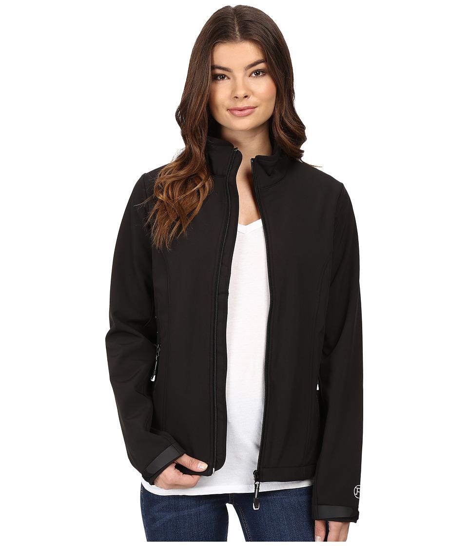 Roper - Softshell Bomber Jacket (Black) Women