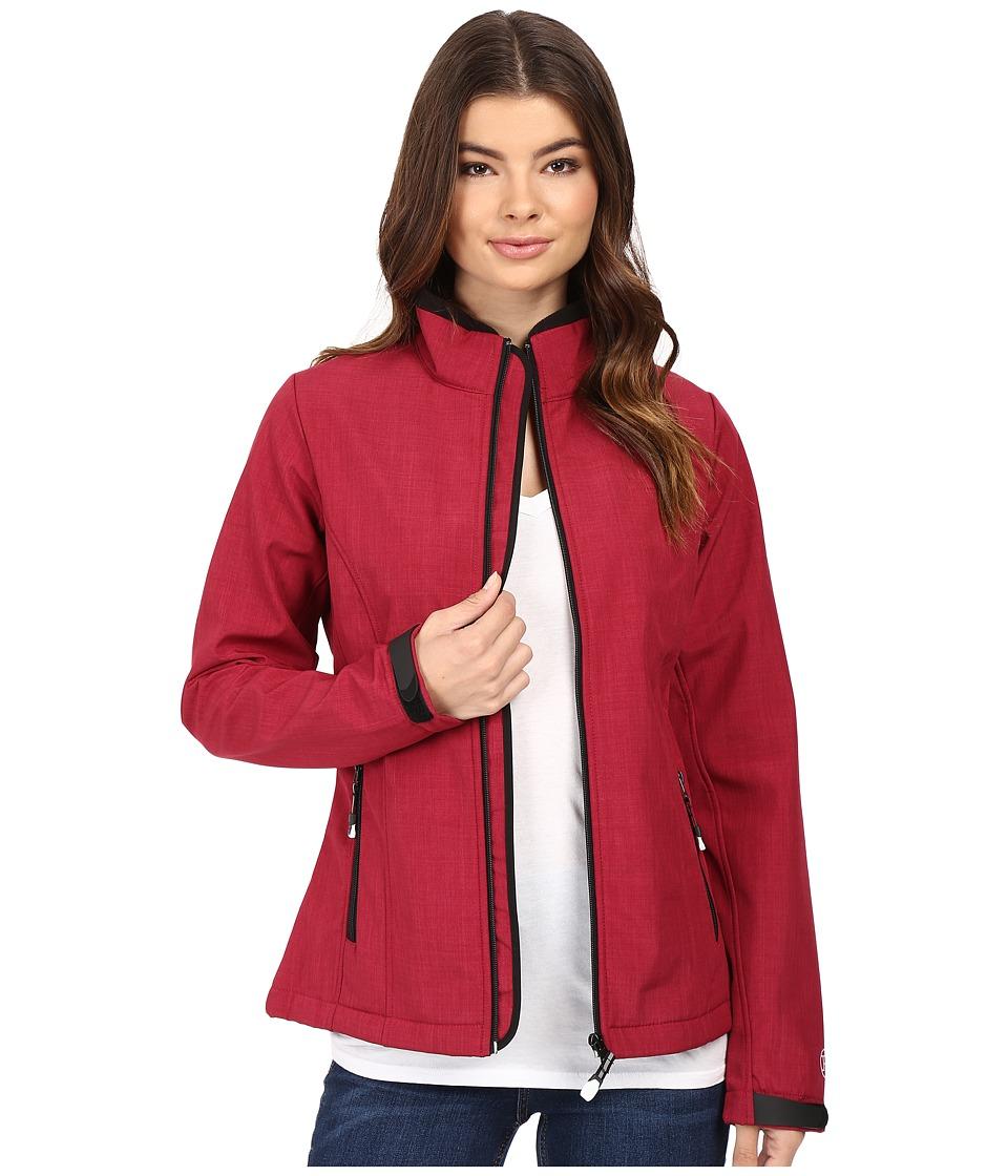 Roper - Softshell Bomber Jacket Print (Pink) Women