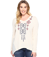 Roper - Plus Size 0588 Solid Sweater Jersey Tunic