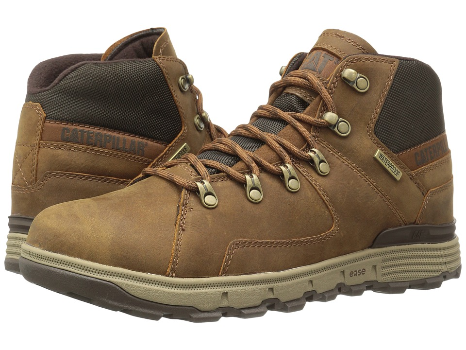Caterpillar Stiction Hiker Waterproof Ice+ (Brown Sugar) ...