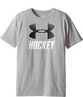 Under Armour Kids - Hockey Wordmark Short Sleeve Tee (Big Kids)